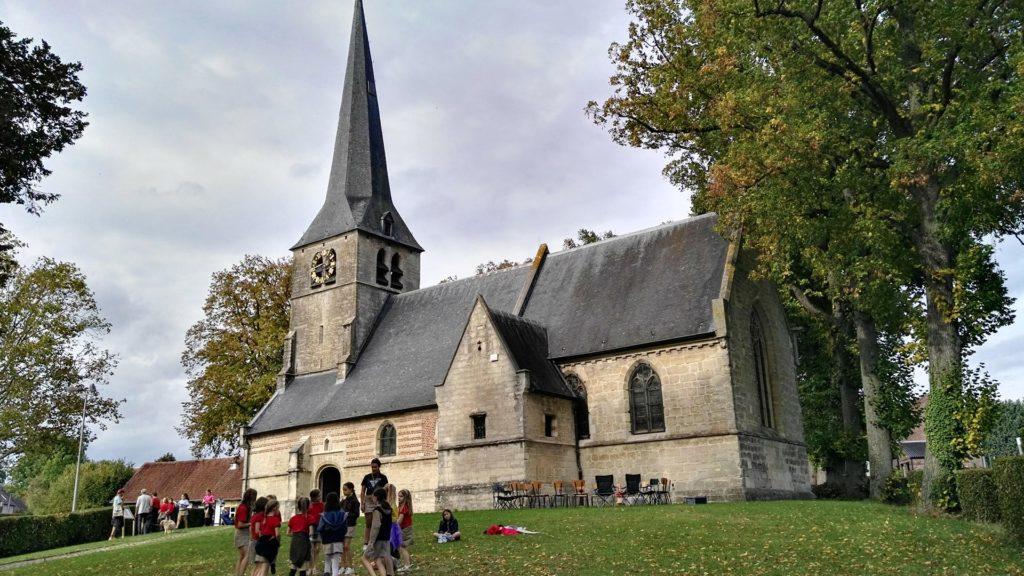 De Beugelroute met de kerk van Sint-Anna-Pede